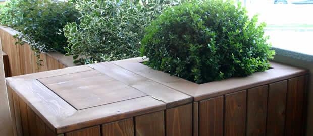Realizzazione terrazzi e giardini pensili for Realizzazione giardini pensili