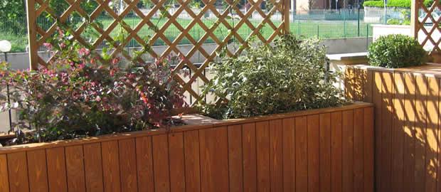 Realizzazione terrazzi e giardini pensili - Barriere antirumore per terrazzi ...